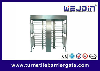 Porcellana Stainless Steel Full Height Access Control Turnstile Gate CE Approved fabbrica