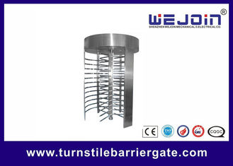 Porcellana RFID barrier gate Security Full height Turnstile for Subway , Metro fabbrica