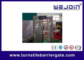 Porcellana Electronic pedestrian barrier gate / Subway Access Control Turnstile Gate fabbrica