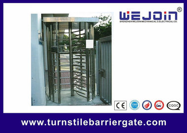 Porcellana 304 / 201 Stainless Steel Smart Card Access Control Turnstile Gate fabbrica
