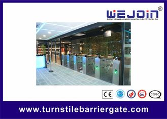 Porcellana Intelligent Flap barrier integrated with 304 stainless steel Used in Subway Station fabbrica