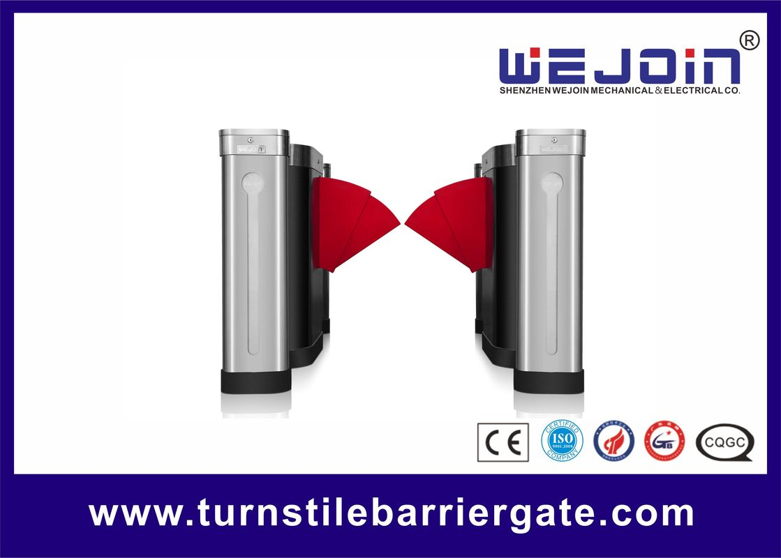 900mm full-automatic access control flap gate WJTY301 fornitore