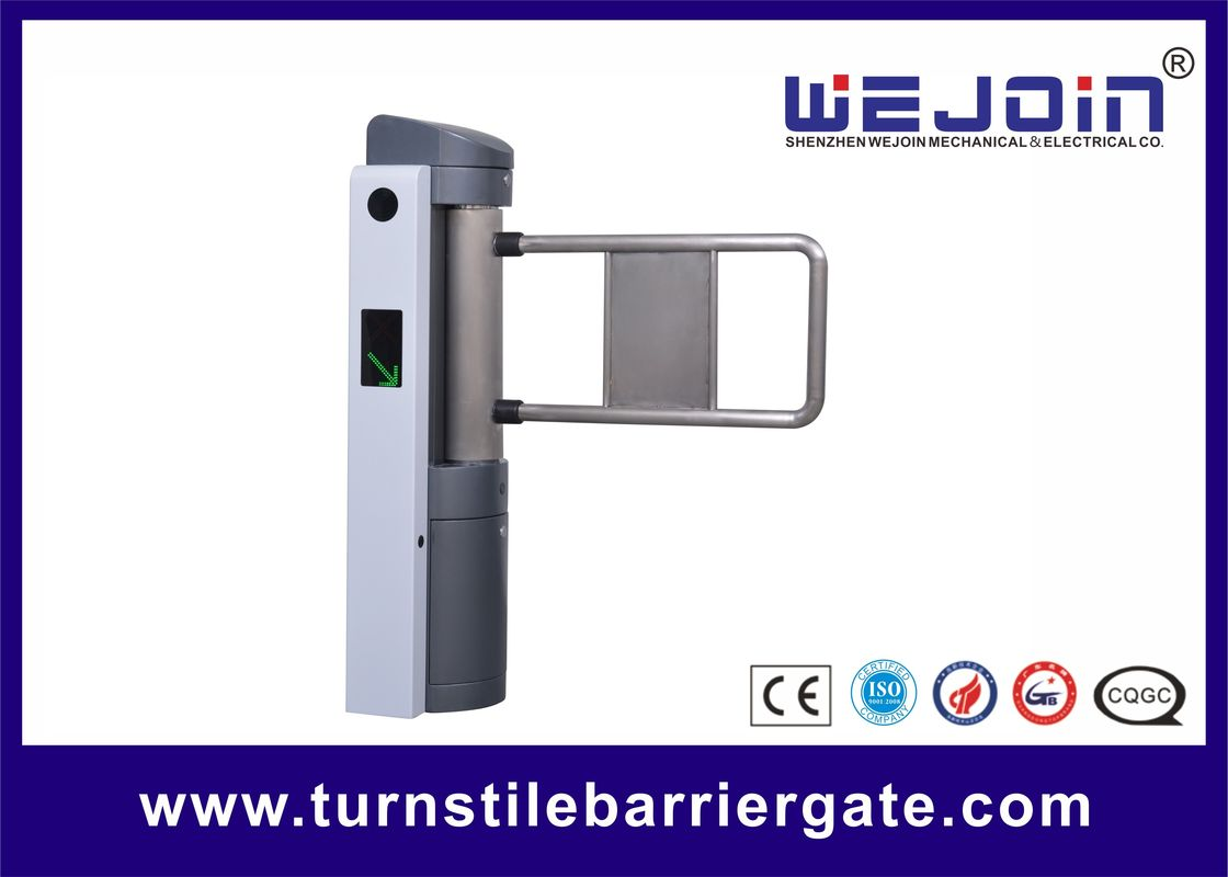Automatic Access Control Single Pole Automatic Swing Barrier , Pedestrian Access Control Gates fornitore