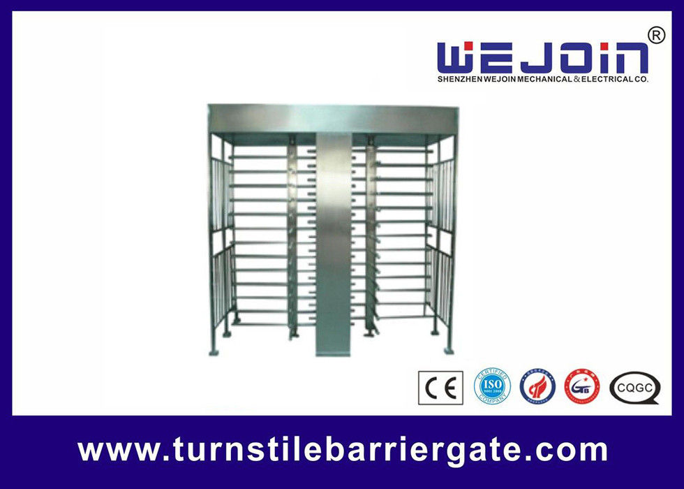 Full Height Access Control Turnstile Gate for IC , ID , magcard ,bar code fornitore