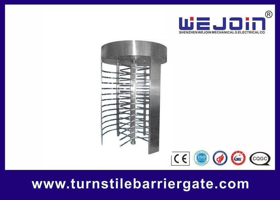 RFID barrier gate Security Full height Turnstile for Subway , Metro fornitore