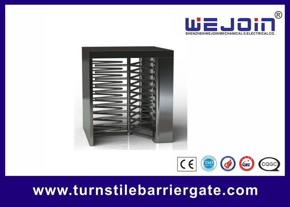 Counter Full Height Turnstiles pedestrian barrier gate With Control Panel fornitore