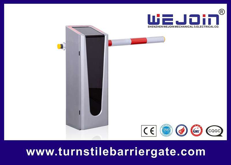 1 - 6m Telescopic Security Barrier Gate , Remote Control Barrier Gate Flashing Gold